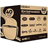 Keurig Entertainers' Collection Variety Pack, Single-Serve Coffee K-Cup Pods Sampler, 40 Count