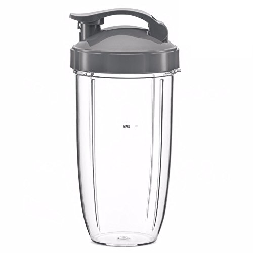 Enbizio replacement part for Nutribullet blenders (Huge 32 oz cup with flip top lid) -  Blenders and parts