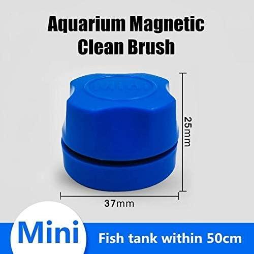 磁性ガラスワイパースキージクリーニングブラシ魚の水槽クリーンブラシ浮遊藻スクレーパーカーブクリーナースクラバーツールウィンドウクリーニングマグネット