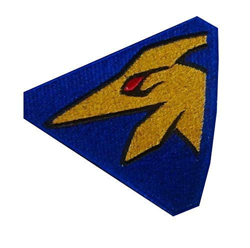 Dino Charge Gold Ranger Kyoryu Gold Pteranodon Embroidered Patch
