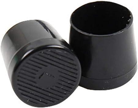 XS Noir r/éduction du Bruit PVC hefeibiaoduanjia Lot de 8 Protections antid/érapantes pour Talons Hauts