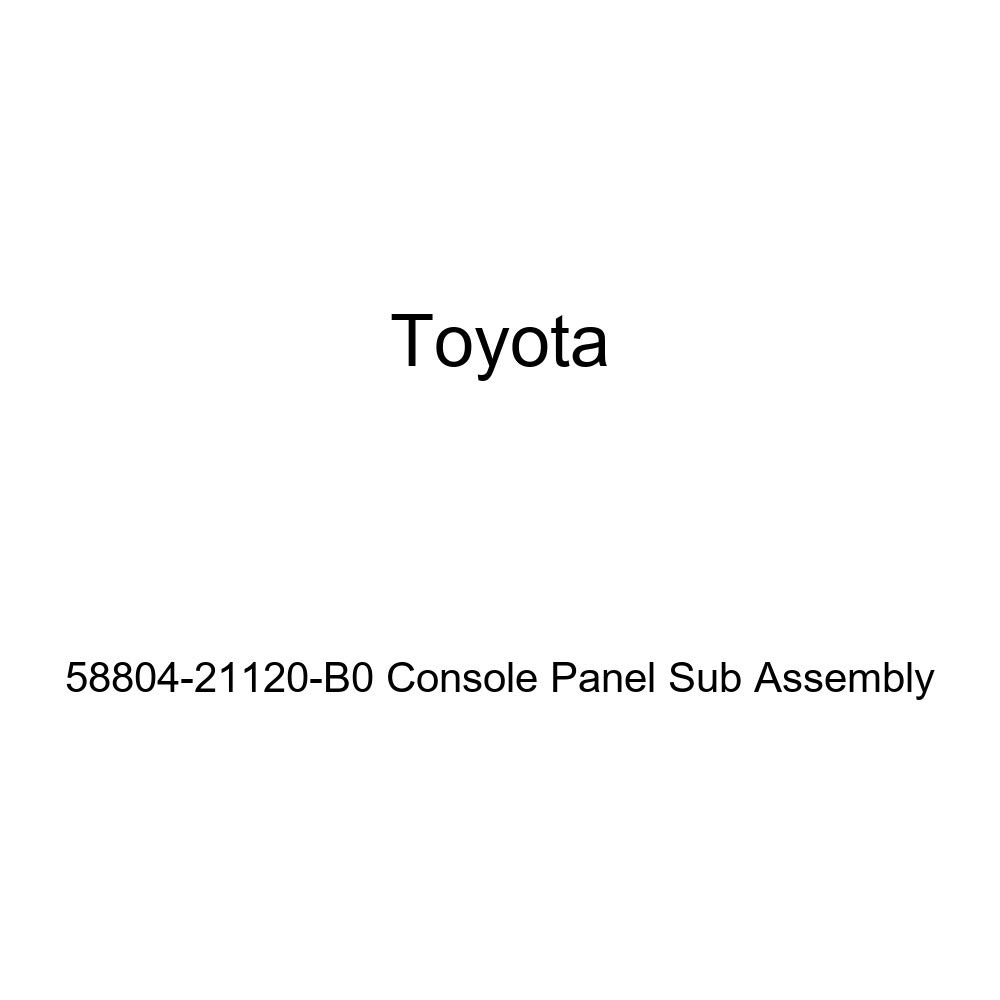 TOYOTA Genuine 58804-21120-B0 Console Panel Sub Assembly