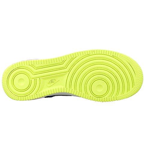 Nike - Air Force 1 GS - 596728177 - Farbe: Schwarz-Seladongrün-Weiß - Größe: 36.5
