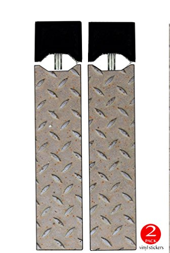 - Juul Vape (2 PACK) - VINYL DECAL STICKERS - Metal Sheet with Grooves - Skin Wrap