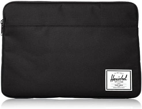Herschel Anchor Sleeve for MacBook/iPad, Solid Black, 15-Inch