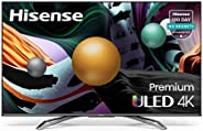 Hisense ULED Premium 65-Inch Class U8G Quantum Series Android 4K Smart TV with Alexa Compatibility (65U8G, 202