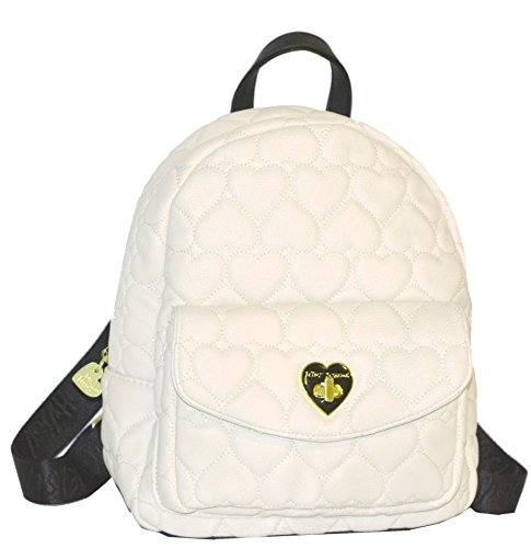 Betsey Johnson Be Mine Turnlock Med Backpack Purse Shoulder Bag Handbag by Betsey Johnson