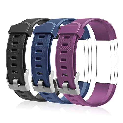 LETSCOM Replacement Bands for Fitness Tracker ID115Plus HR and ID115Pr