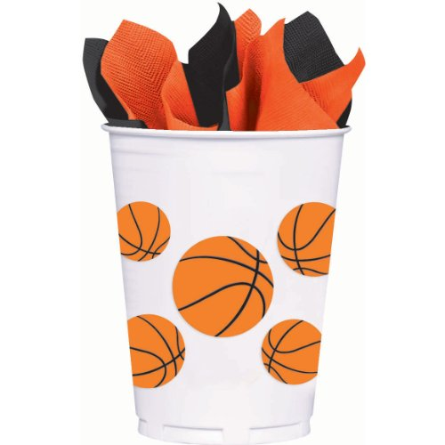 Basketball Fan Plastic Party Cups]()