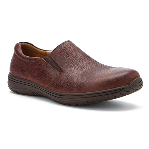 Alegria Mens Aaron Slip-on Choco Wax Burattato