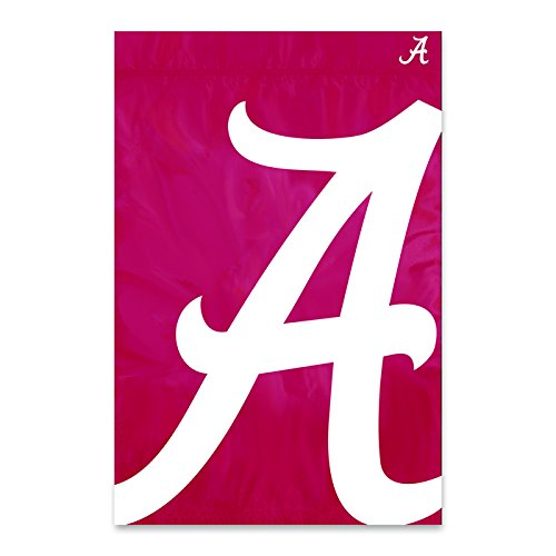 University of Alabama Crimson Tide Polyester Bold Logo Banner Flag 36 X 24 (Logo Polyester University)