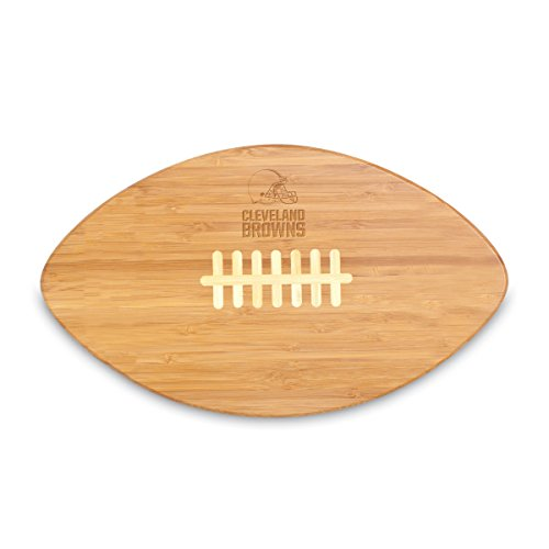 NFL Cleveland Browns Touchdown Pro! Bamboo Cutting Board, 16-Inch
