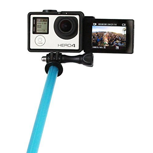 TELESIN LCD Screen Adapter, Screen Front Converter Selfie Adapter for Gopro Hero 4 3+ 3, and LCD Touch BacPac