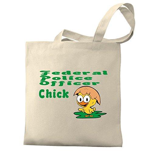 Police chick Federal Canvas Eddany Tote Bag Eddany Officer Federal fqtgwg