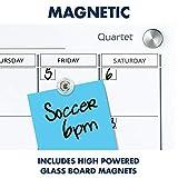 Quartet Magnetic Whiteboard Calendar
