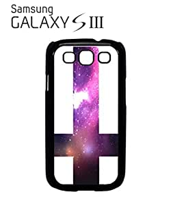 Inverted Cross Galaxy Mobile Cell Phone Case Samsung Galaxy S3 Black