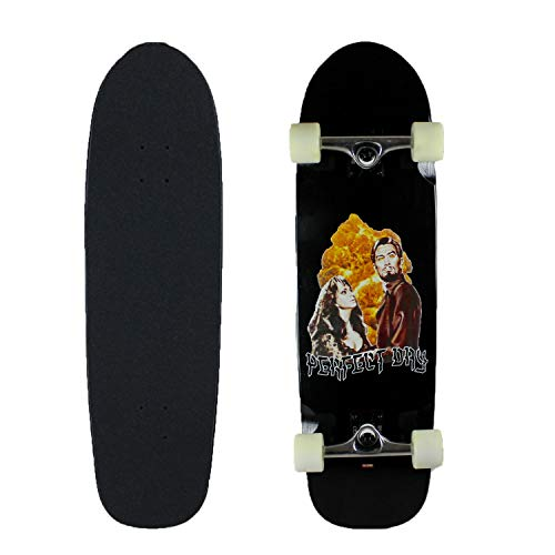"""GLOBE Skateboards Cruiser Complete Shooter Black/Perfect Day 9.0"""" x 32"""""""