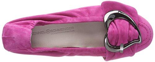 Pink Schmenger und Bout Fermé Kennel Malu Femme Rose Ballerines Gun 499 8PnnwFxS