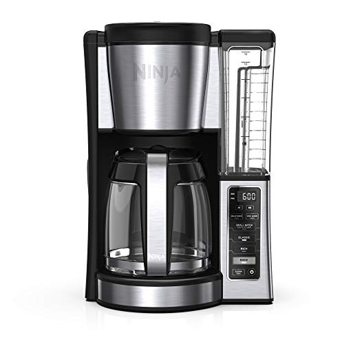 Ninja 12-Cup Programmable Brewer CE251 Coffee Maker, 60 oz, Black/Stainless Steel