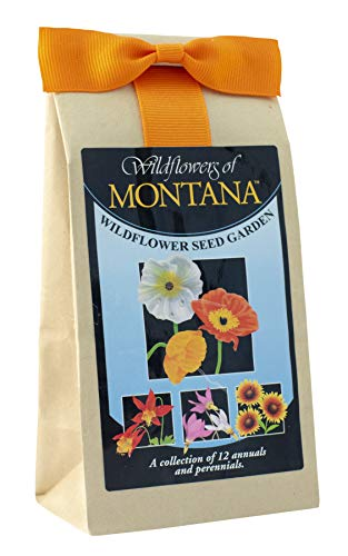 (Montana Wildflowers - Seed Mix - A Beautiful Collection of Twelve Annuals and Perennials - Enjoy the Natural Beauty of Montana Flowers in Your Own Home Garden)
