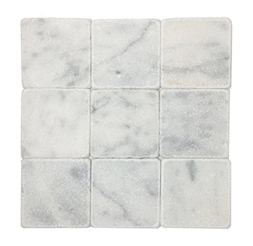 Vogue Tile White Carrara Marble 4