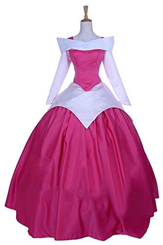 Ace Deluxe Adult Women's Sleeping Beauty Princess Costume Dress Custom Made (L) (Custom Made Disney Princess Costumes)