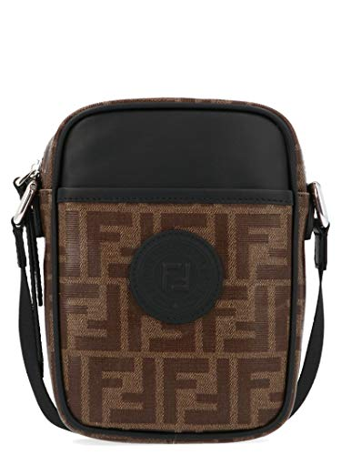 Fendi Men's 7Va456a5k4f14tw Brown Leather Messenger -