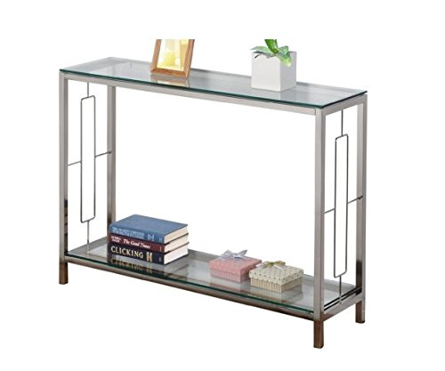 Glass Set Console Table - 2