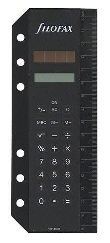 Filofax Accessories Calculator Bookmark Personal
