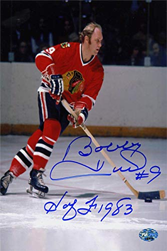 Bobby Hull Autograph Replica Super Print - Chicago Black Hawks - Portrait - Unframed