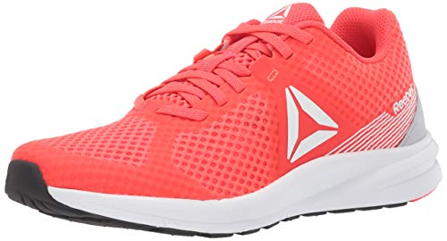 Reebok Women's Endless Road Running Shoe, neon red/Guava Punch/White/Cold Grey/Silver, 7.5 M US