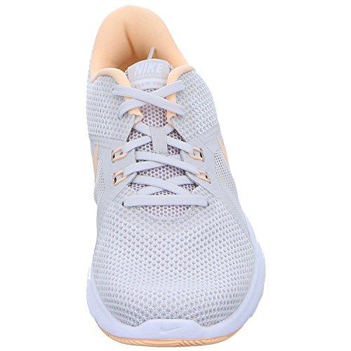 Nike Ladies W Flex Trainer 8 Scarpe Da Corsa Grigio (grigio Enorme / Bianco Karmesinton 016 016)