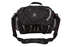 Upgrade your fishing companion with the roomy and rugged SpiderWire Wolf Spider Tackle Bag with a variety of compartments and pockets to keep all your angling essentials efficiently organized and close to hand. This soft-sided bag is made fro...