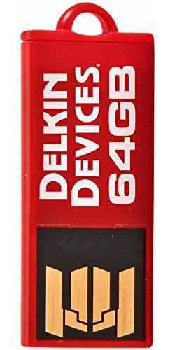 - Delkin Tiny USB 2.0 Flash Drive 64 GB
