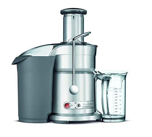 Breville RM-800JEXL Die-Cast Juice Fountain Elite 1000-Watt Juice Extractor (Renewed)