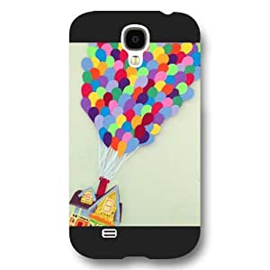 Onelee Customized Disney Series Phone Case for Samsung Galaxy S4, Lovely Cartoon Adventure Is Out There UP Painted Samsung Galaxy S4 Case, Only Fit for Samsung Galaxy S4 (Black Frosted Shell) by ruishername