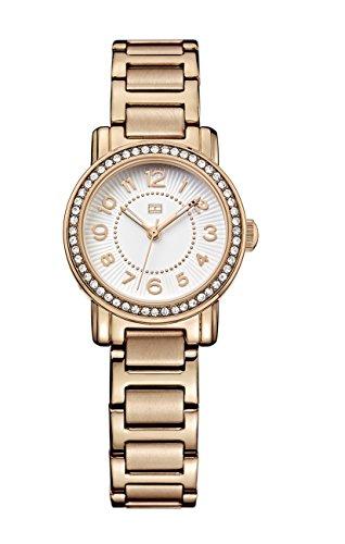 Tommy Hilfiger Women's 1781476 Rose Gold Stainless-Steel Analog Quartz Watch