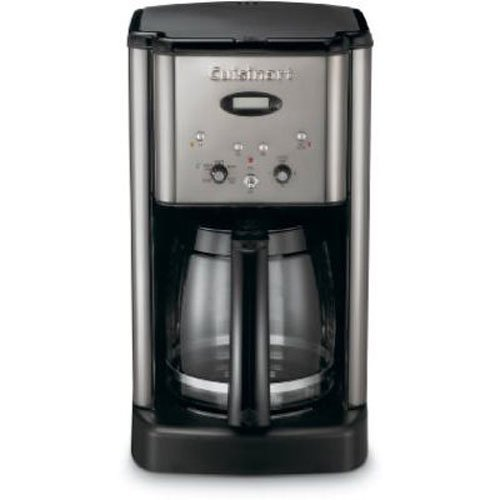 Cuisinart Brew Central DCC-1200 12 Cup Programmable Coffeemaker, Black/Silver (Coffee Maker Drip Pot compare prices)