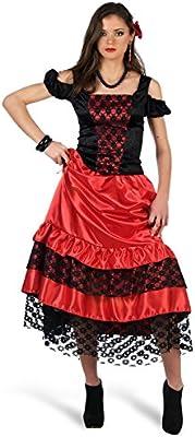 Limit Sport - Disfraz de Carmen flamenca para adultos, talla M ...