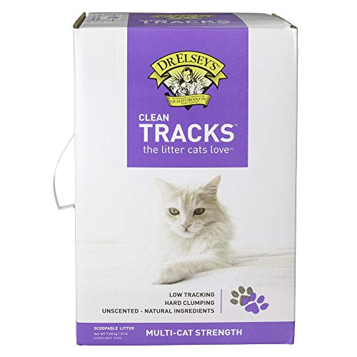 Dr. Elsey's Clean Tracks Clumping Clay Cat Litter, 20 lbs.