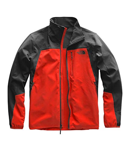 The North Face Men's Apex Nimble Jacket, Fiery Red/Asphalt Grey, Size XL