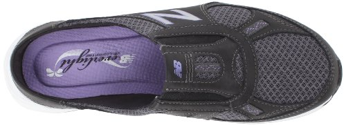 888098229813 - New Balance Women's WW520 Walking Shoe,Black/Purple,8 2A US carousel main 6