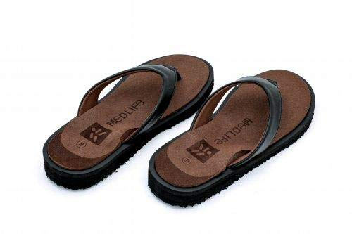 090878367083b Medlife Women s PU Diabetic   Orthopedic Footwear- Brown (Size 4-10 ...