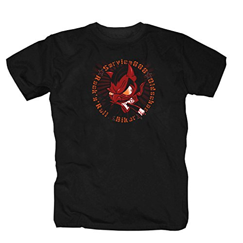 Tattooed rebel -Service666- T-Shirt