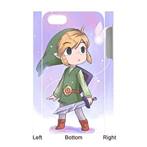 ZOEHOME Phone Case Of Ocarina of Time game boy ,Hard Case !Slim and Light weight and won't fade, Scratch proof and Water proof.Compatible with All Carriers Allows access to all buttons and ports. For ZOEHOME 4/4s