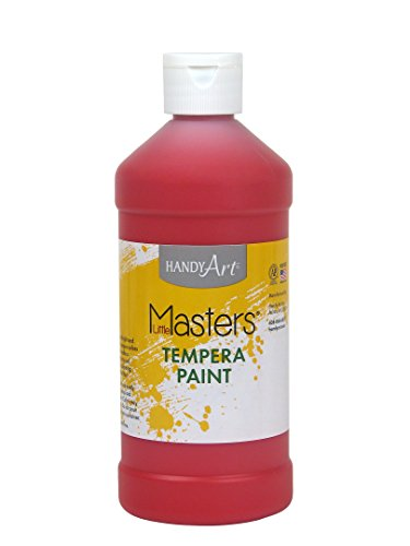 Handy Art Little Masters Tempera Paint 16 ounce, - Castle In Stores Co Rock