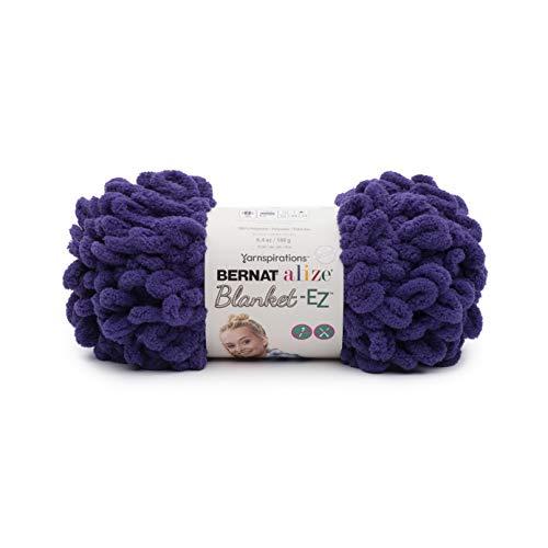 Bernat Alize Blanket-EZ Yarn Bright Purple ()