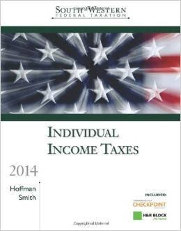 South-Western Federal Taxation 2014: Individual Income Taxes 37th Edition