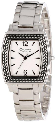 Caravelle by Bulova Women's 43L150  Tonneau Bracelet Watch ()