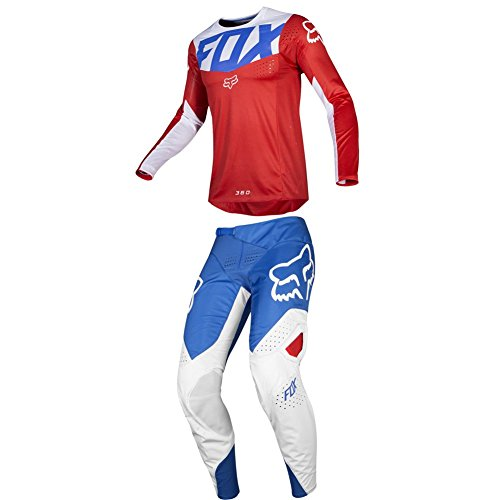 - Fox Racing 2019 360 KILA Jersey and Pants Combo Offroad Gear Set Adult Mens Blue/Red XL Jersey/Pants 36W